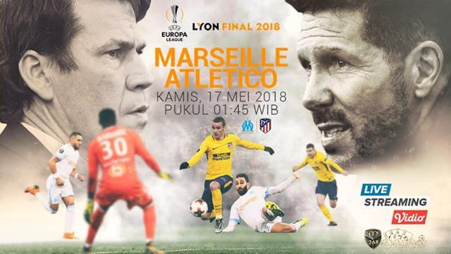 Prediksi Marseille Vs Atletico Madrid, Kamis 17 Mei 2018 Pukul 01.45 WIB @ SCTV