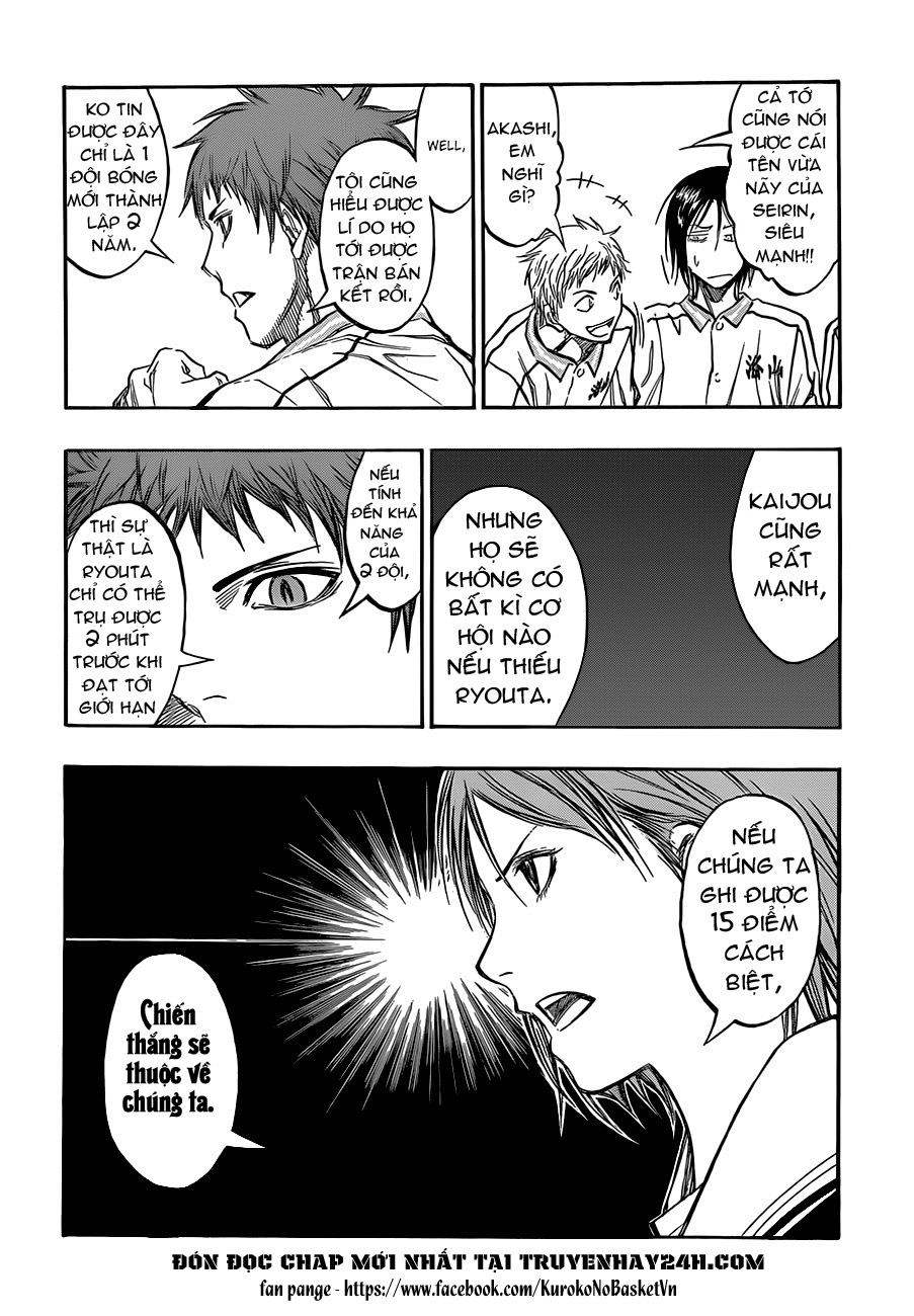 Kuroko No Basket chap 195 trang 6