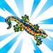 viral barcelona block barcelona lizard souven 75x75 - Materiais CityVille: Construir o Bloco Barcelona