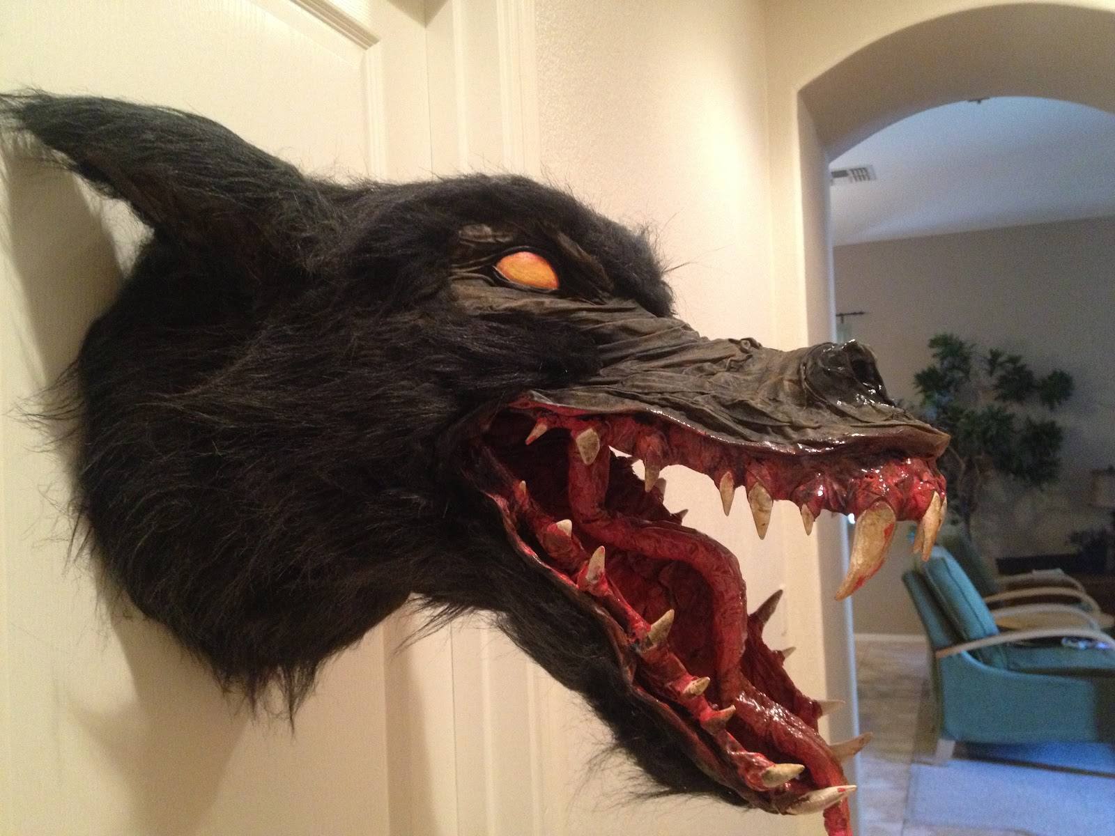 How To Make A Paper Mache Wolf Head