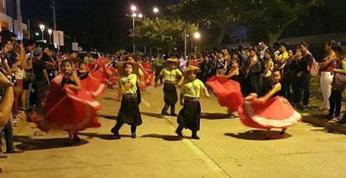 Rol de ingreso IX Folklórica de la UAGRM - Santa Cruz