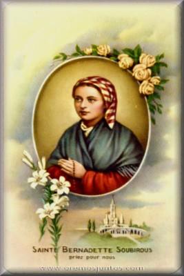 Resultado de imagen para Santa Bernardita de Soubirous