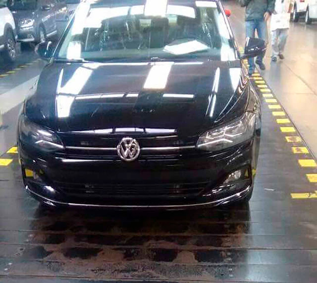 Novo VW Virtus (Polo Sedã) 2018