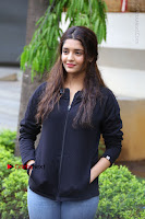 Actress Ritika Singh Stills at Guru Movie Success meet  0066.JPG