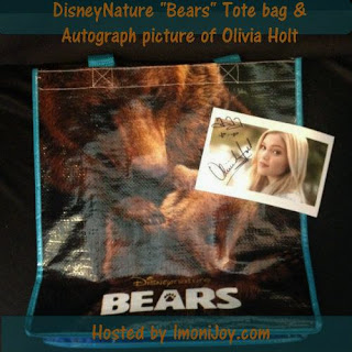 Enter the DisneyNature Bears Tote Giveaway. Ends 5/15.