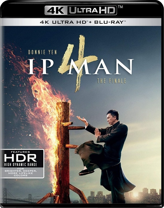 Ip Man 4: The Finale On 4K Ultra HD & Blu-ray April 21 (Well Go USA)