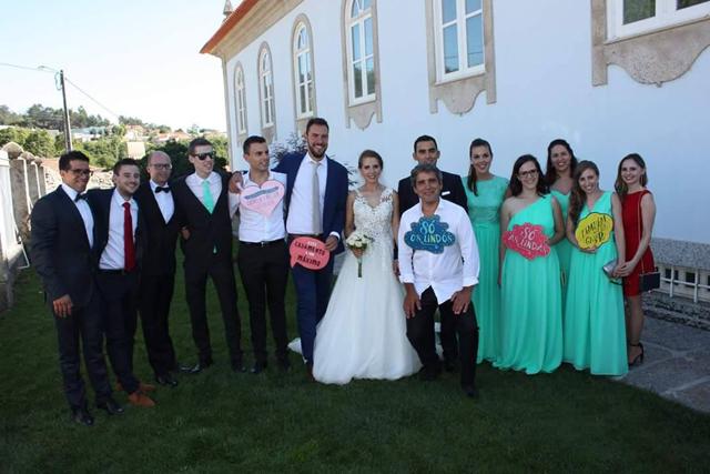 diversão casamento