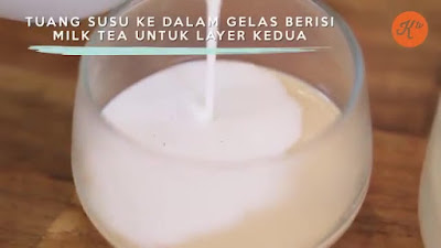 Milk Tea Silky Pudding