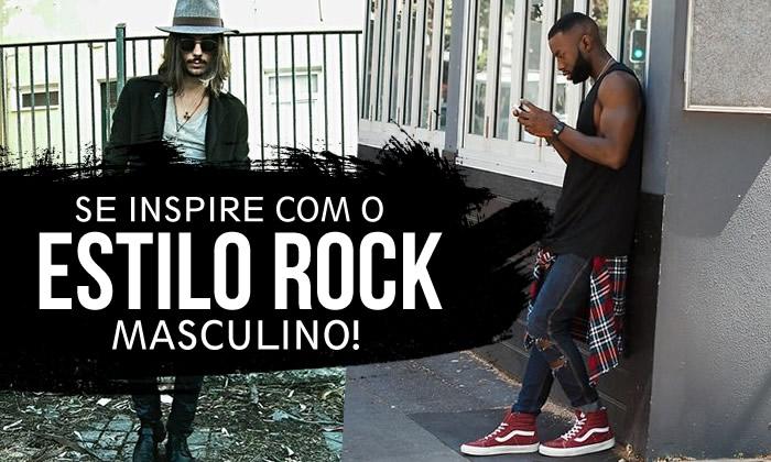 Estilo Rock Masculino 2017 2018
