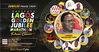 Event: Lagos Jubilee Marathon Praise Concert [@jubileepraizcrw]