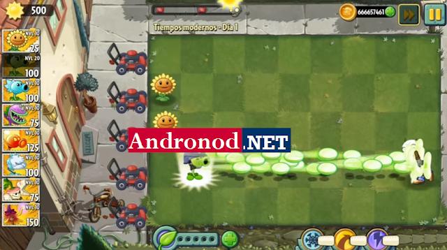 Plants vs Zombie 2 v6.0.1 Mod Apk Data (Unlimited Coins/Gems)