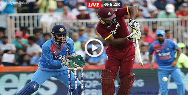 India Vs West Indies 5th ODI Live Scores, Live Cricket Streaming