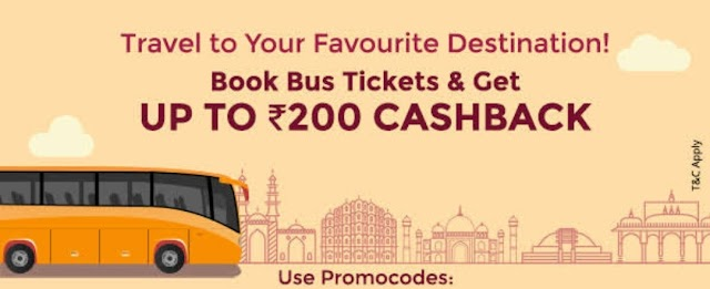 Paytm – Get 100% Cashback on Your Bus Ticket Booking (All users)