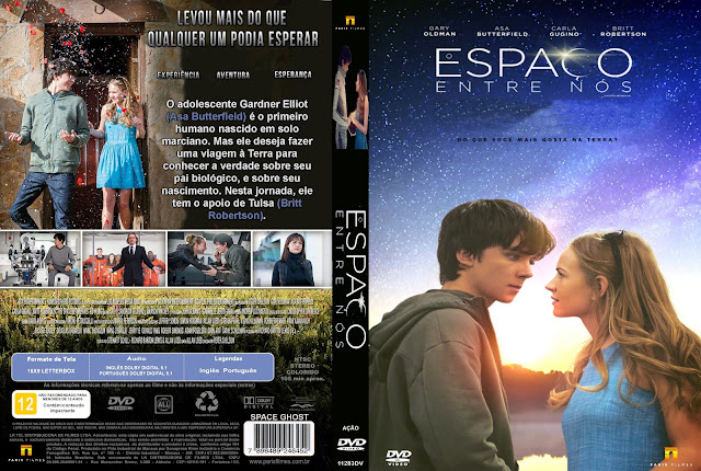 Capa DVD O Espaço Entre Nós