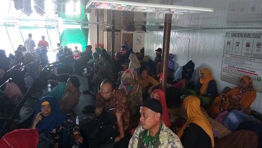 KMP Bontoharu Kembali Layani, Penyeberangan Selat Selayar