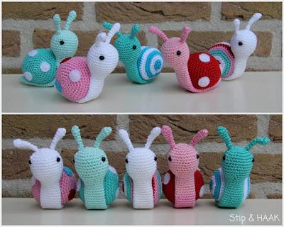 Amigurumi Snail-Free Pattern