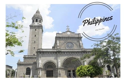 Exploring Old Manila, Philippines