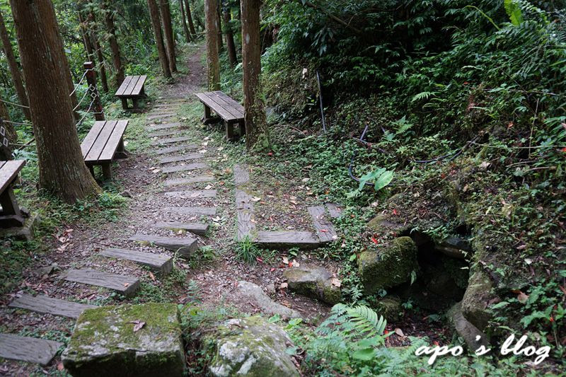 新竹五峰景點-白蘭溪古道