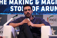 Arjun Rampal with Ajit Andhare At FICCI FRAMES 2017 016.JPG