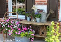 Hymns And Verses French Country Front Porch