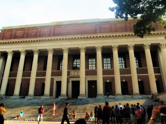 Harvard U library steps by gurlayas.blogspot.com