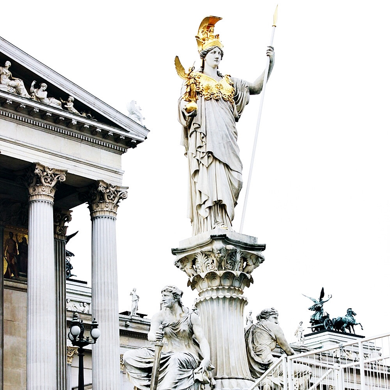 48h in Vienna Parliament building photos and visit