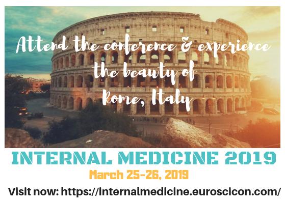 CME | CPD | Internal Medicine Conference | 2019 | Rome