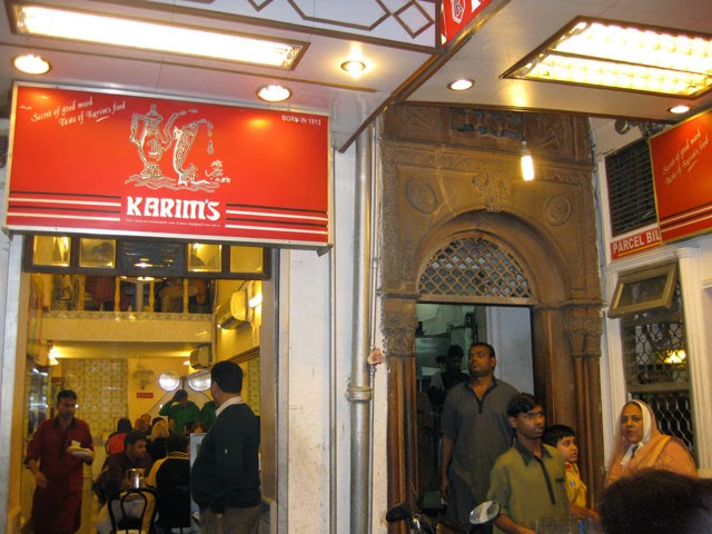 Karim's Restaurant in Chandni Chowk, Delhi