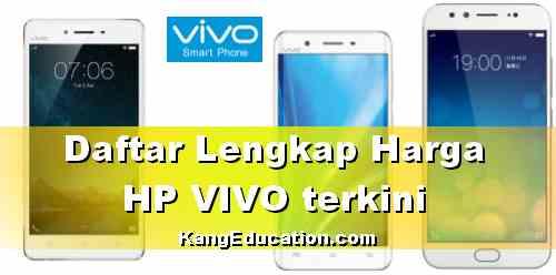 Harga terbaru HP VIVO