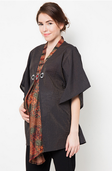 Contoh Baju Hamil Muslim Kebaya Terbaru 2015