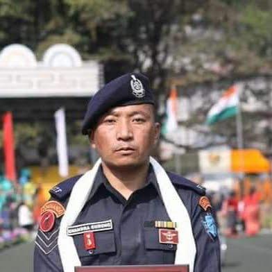 Chandra Kumar Gurung conferred Jeevan Raksha Padak 2018