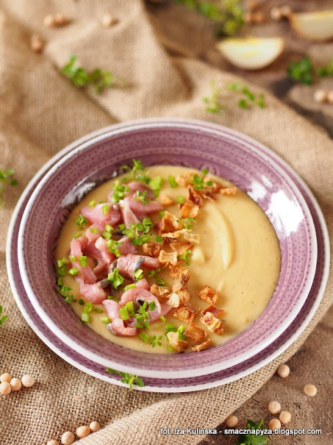 postna zupa, grochowka ze sledziem, kaszuby, sledzie, dziki sledz, msc polska, zawsze dzikie, zupy domowe, obiad, sledzik, groch