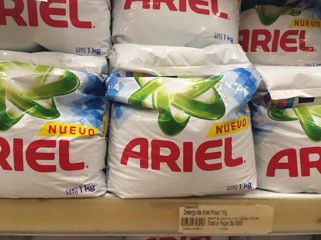 Ya viste a qué precio amanecieron los productos de limpieza?