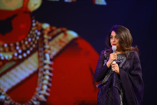 Ramya Krishna at Baahubali 2 Pre Release Event