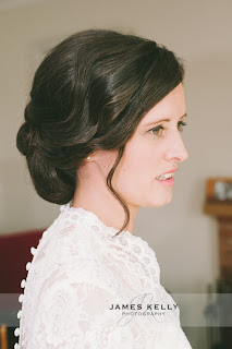 Soft wedding hair