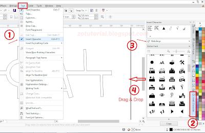 Cara Mudah Membuat Denah Lokasi (Peta) dengan CorelDraw