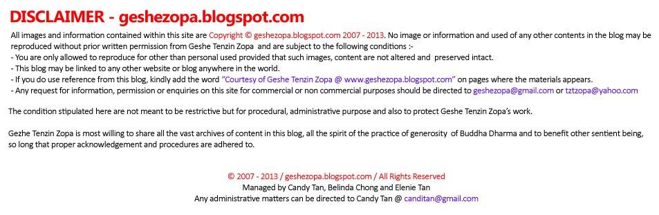 Geshe Tenzin Zopa: Mantras for Recitation