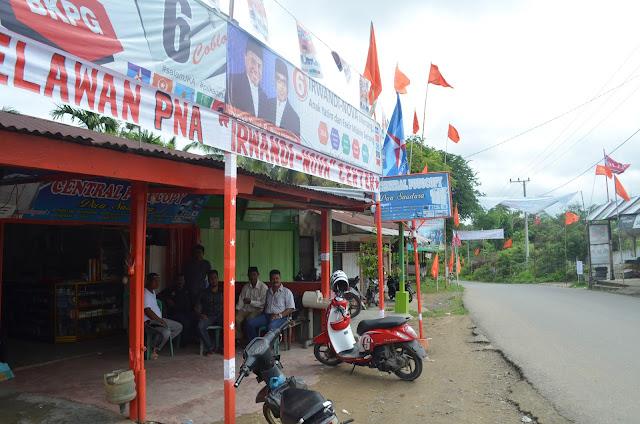 Amir dan Castello Munculkan Warna Baru Pilkada Aceh di Desa Paloh Gadeng