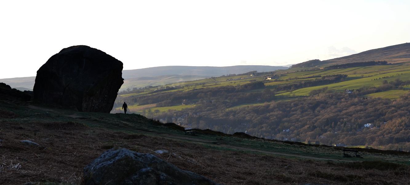 Ilkley Moor, Yorkshire