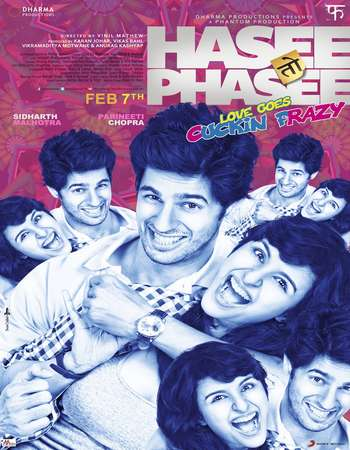 Hasee Toh Phasee 2014 Full Hindi Movie DVDRip Free Download