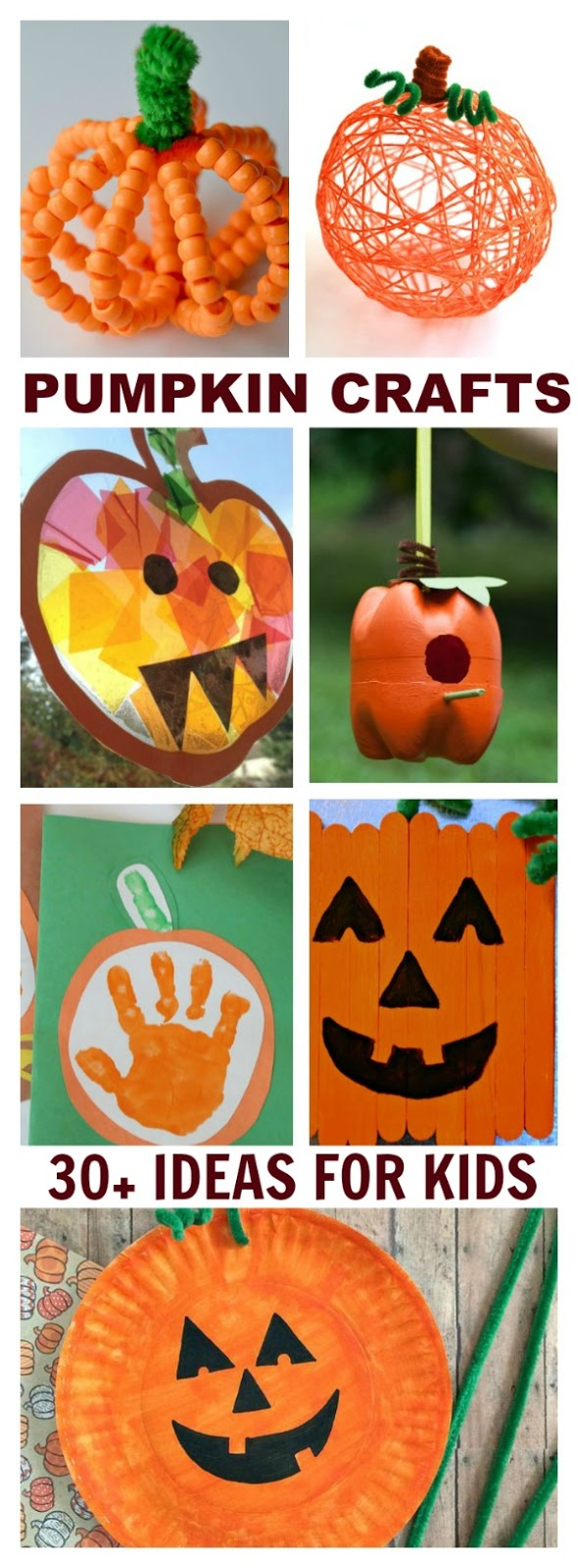 It's just a picture of Fabulous Pumpkin Crafts for Toddlers