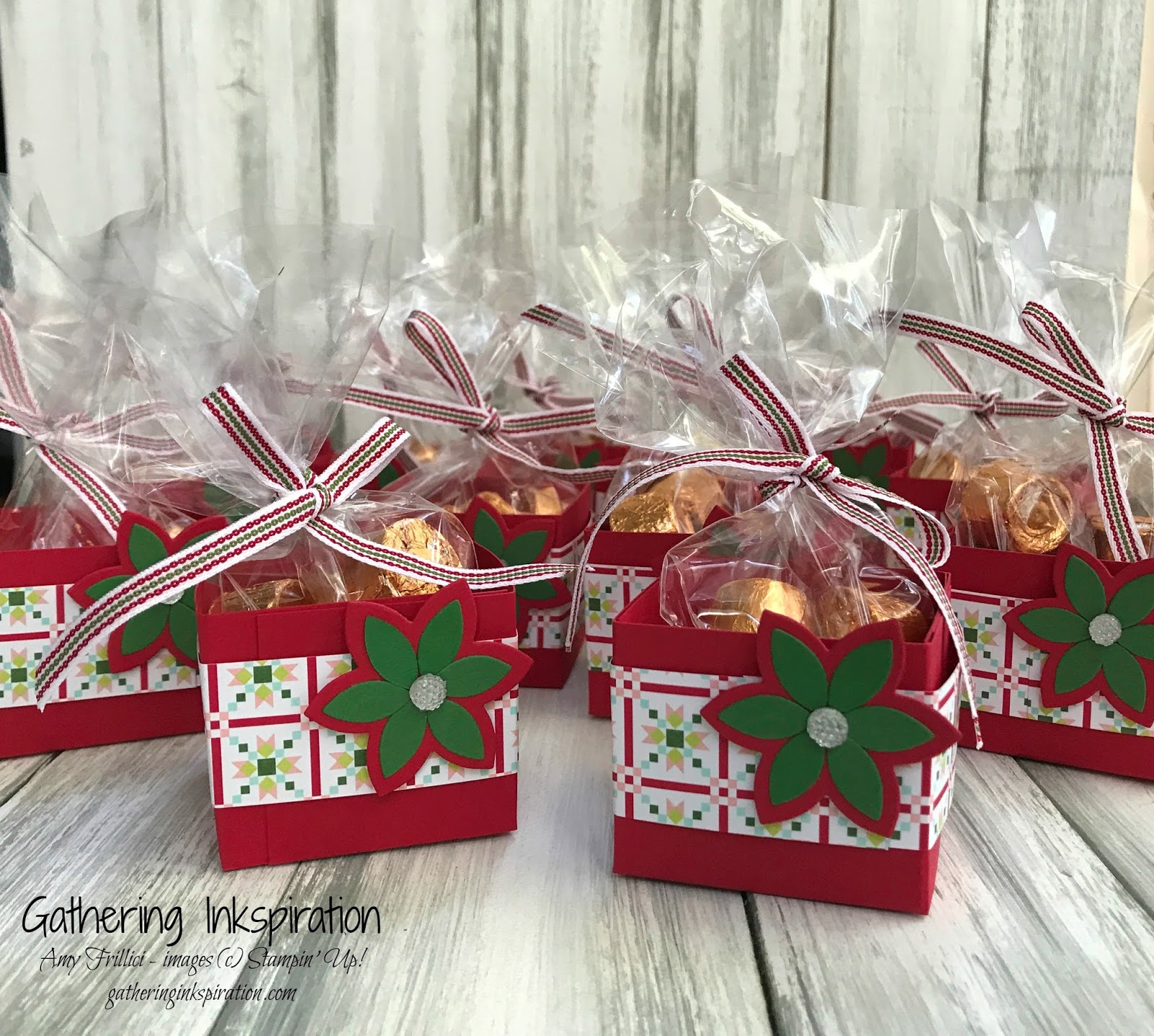 Gathering Inkspiration Quilted Christmas Treat Gift Ideas