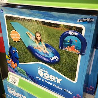 finding dory slip n slide water slide