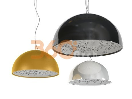 [3D Model Free] Modern lights set 1