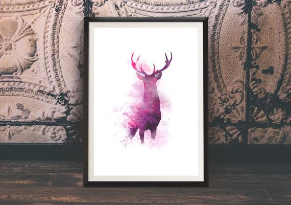 Francine's Deer Print