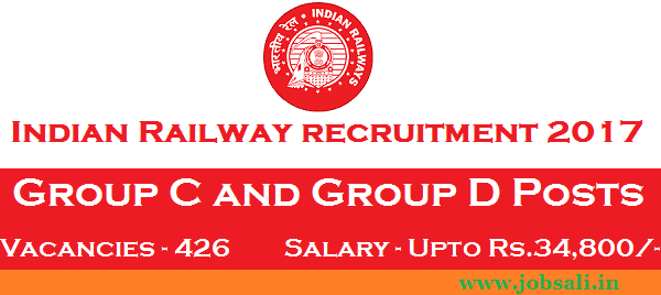 indian railway jobs for 12th pass, Indian Railway vacancy, Indian Railway Jobs