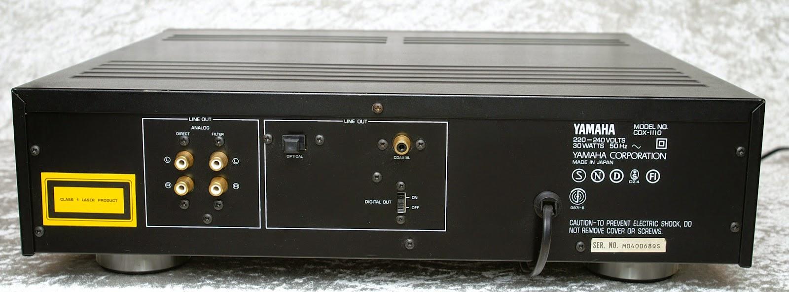yamaha cdx 1110 cd player audiobaza. Black Bedroom Furniture Sets. Home Design Ideas
