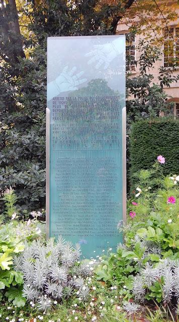 jardin villemin paris plaque commémorative