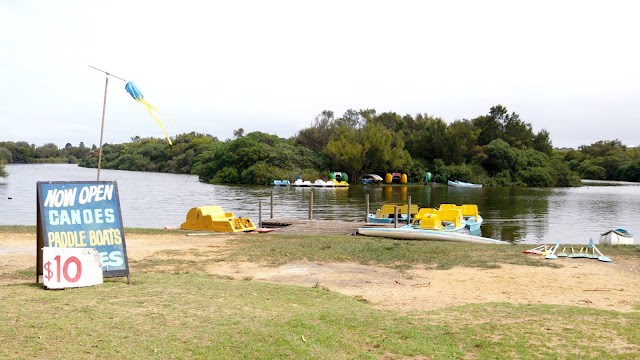 Lake Pertobe Warrnambool, Lake Pertobe Warrnambool Paddle Boats