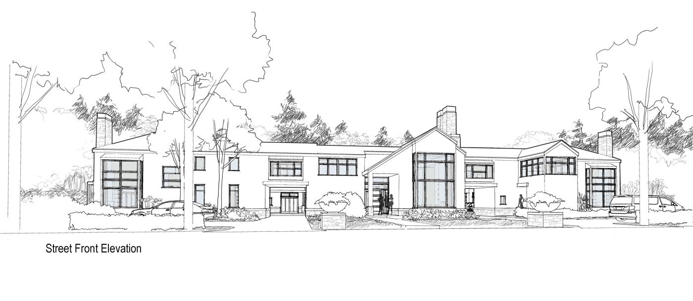 Co housing manor plan